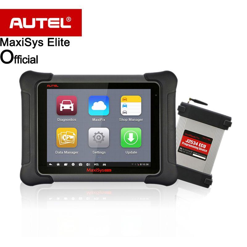 Elite de Actualización de MS908P AUTEL MaxiSys ms908 PRO 2 años Libera la Actualización Auto Universal Escáner de Diagnóstico J2534 herramienta de Programación ECU