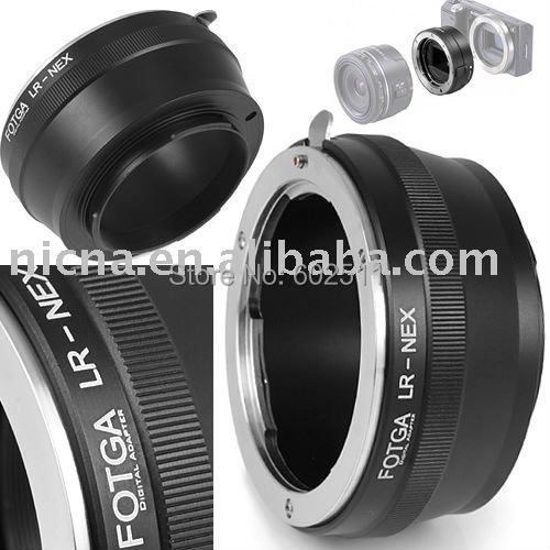 FOTGA Adapter Ring For Leica R Lens to Sony NEX-3 NEX-5 E Mount Adapter Ring brass wholesale