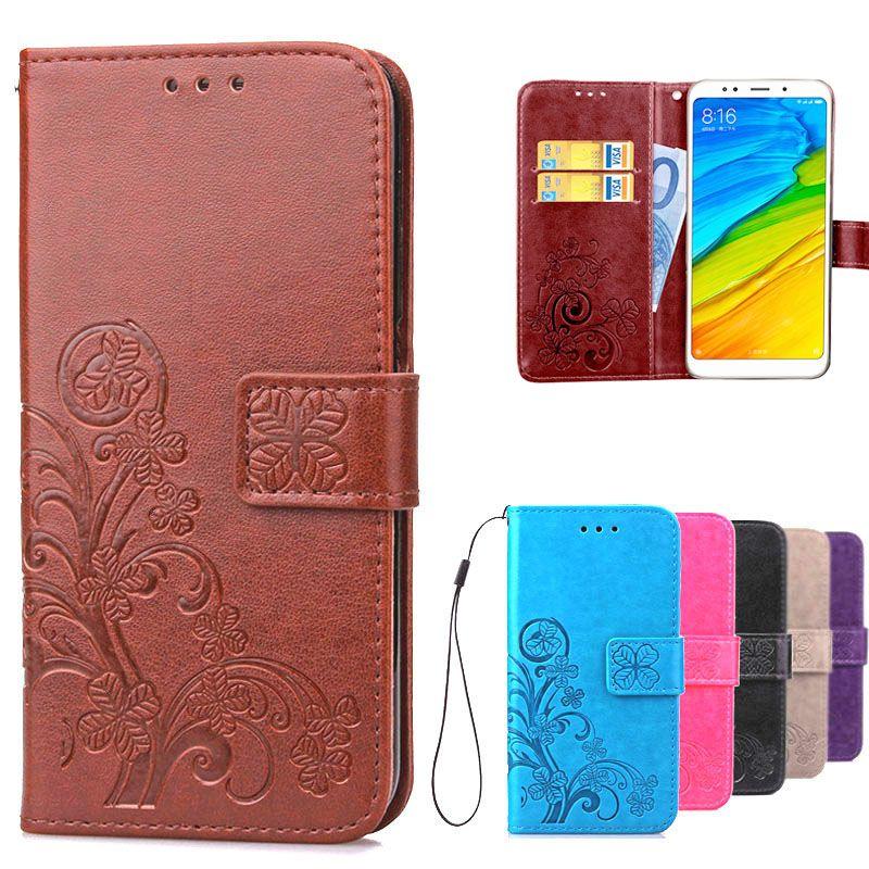 Leather Flip Cover Case For Xiaomi Redmi 5 Case Xiaomi Redmi 5 Plus Phone Case For Xiomi Xiaomi Redmi 5 Plus Redmi5 Plus 5Plus
