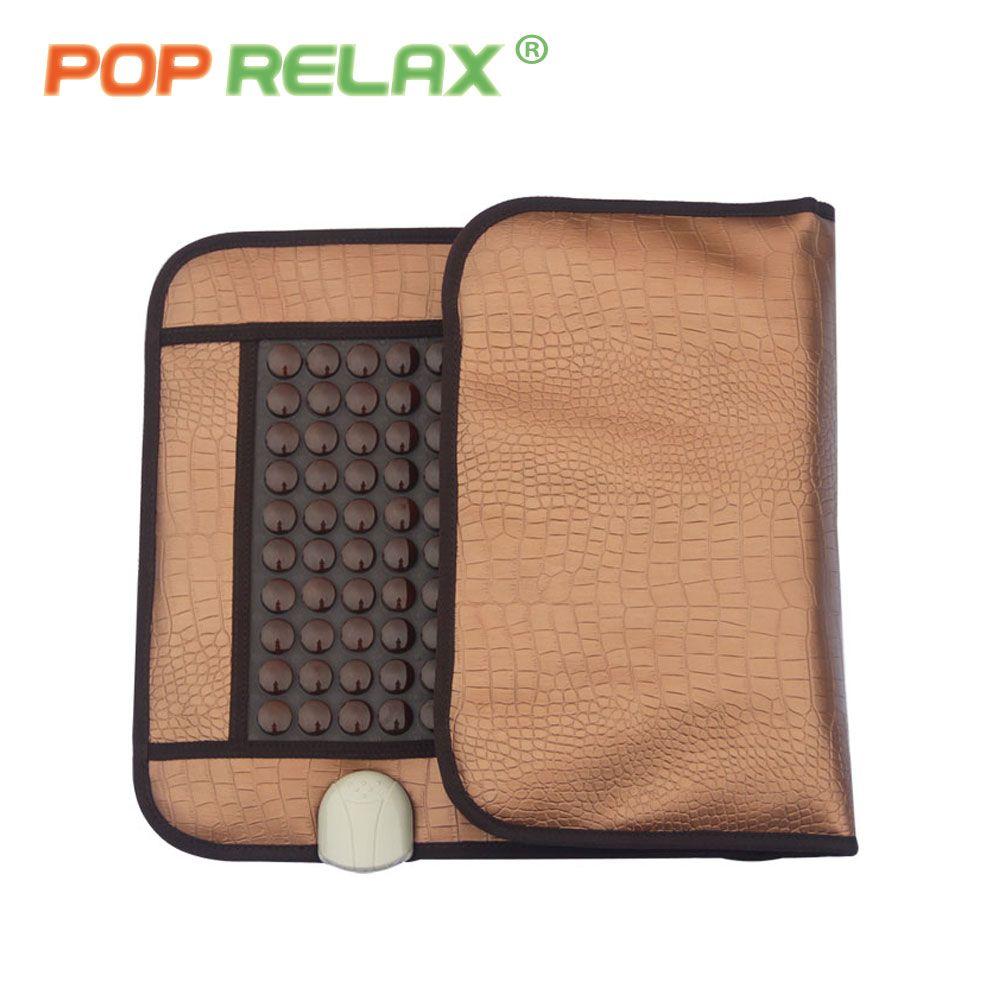 POP RELAX santé Corée germanium tourmaline tapis de massage jade matelas électrique chauffage thérapie pad coussin nuga meilleur CERAGEM