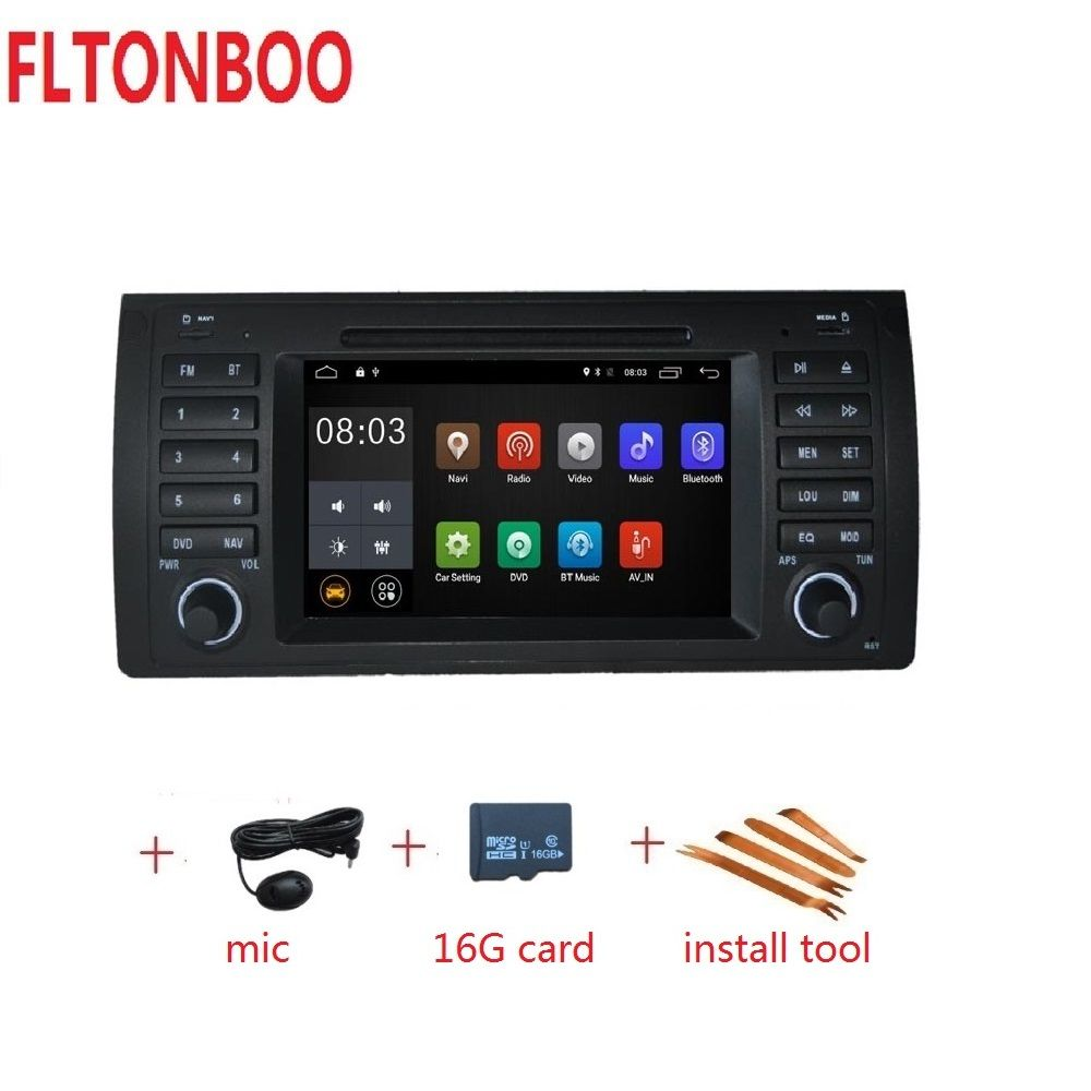 Android 9 for bmw E39,X5,M5,E53 car dvd,gps navigation,wifi,radio,bluetooth,Steering wheel Canbus Free 16g map,mic,touch screen