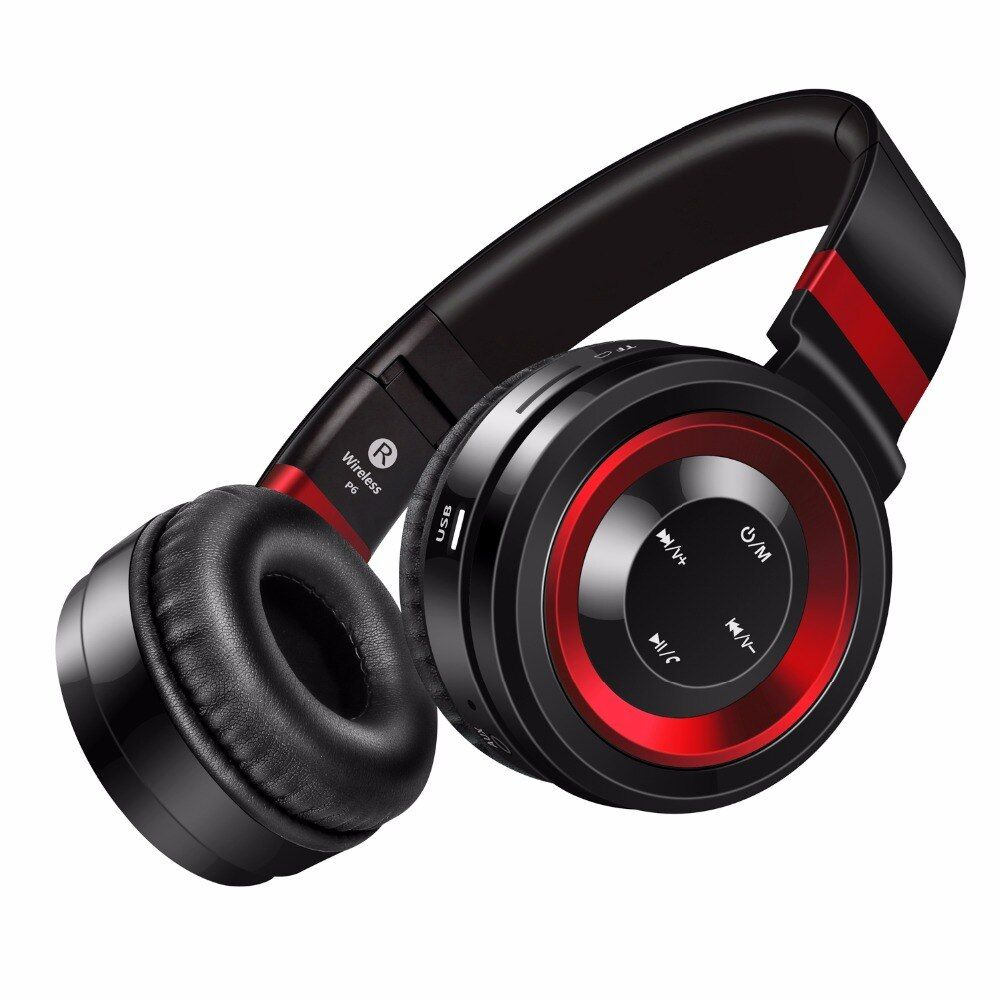 Sound Intone P6 Bluetooth Headphone Stereo Bass Headphones HIFI Music Earphone With Mic. Gaming Headset Folding fone de ouvido