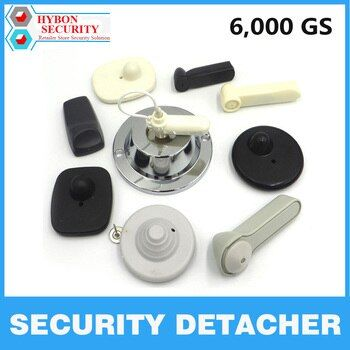 HYBON Security Detacher 6,000GS EAS Detacher Magnetic Security Tag Remover Anti-theft Tag Remover magneet ontkoppelaar