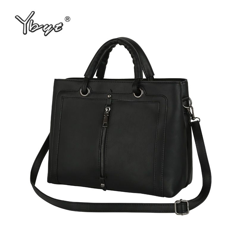 vintage zipper decorative medium handbags high <font><b>quality</b></font> women totes clutch purse ladies famous designer shoulder crossbody bags