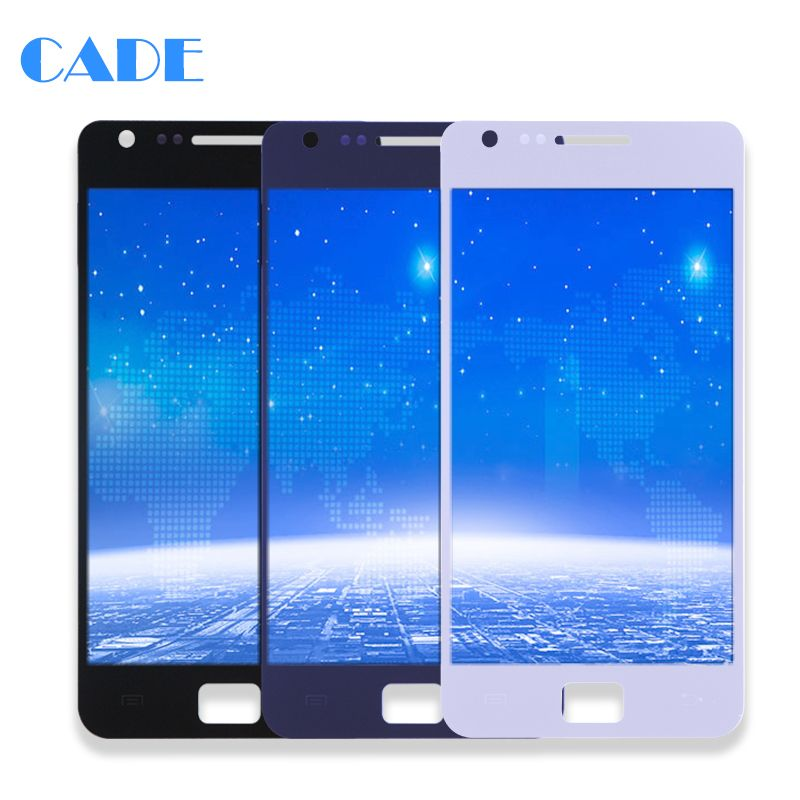 LCD Display For Samsung Galaxy SII S2 I9100 S2 Plus i9105 Touch Screen Phone Lcds Digitizer Assembly Replacement Parts No Frame