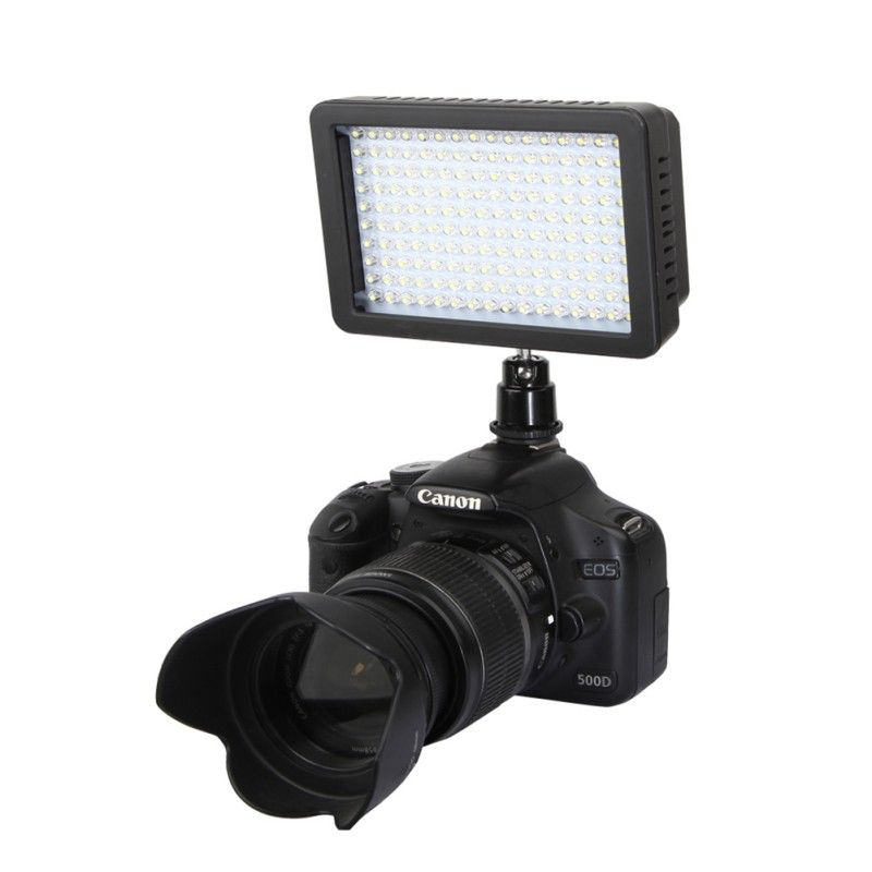 Newest Video LED Night Light Lamp Photographic Lighting 5600K 165 Lamp Beads For Camera Mini DVR 7.5V 12W