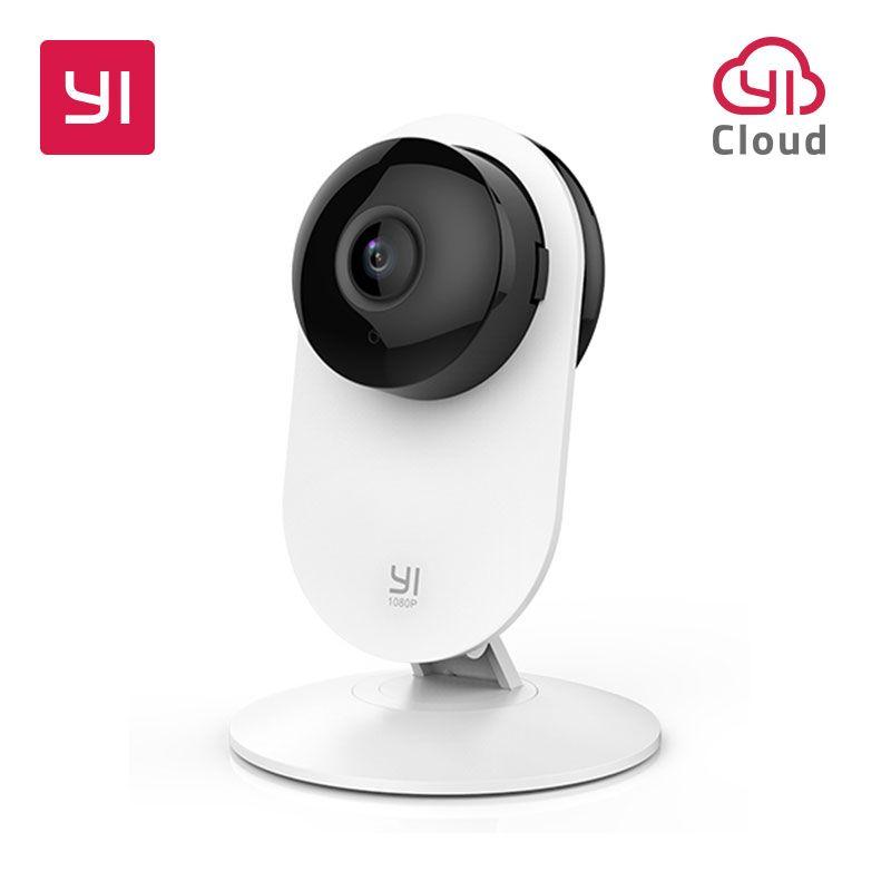 YI 1080 p caméra d'intérieur IP système de Surveillance de sécurité avec Vision nocturne pour la maison/bureau/bébé/nounou/Pet moniteur YI Cloud