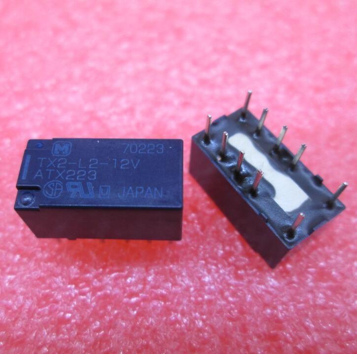 HEIßE NEUE relais TX2-L2-12V ATX223 TX2-L2-12VDC TX2L212V 12VDC DC12V DIP8 kostenloser versand