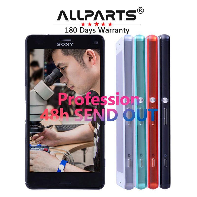 Гарантия Сенсорный экран для Sony Xperia Z3 Compact Дисплей Z3 Мини d5803 d5833 планшета для Sony Xperia Z3 Compact ЖК-дисплей