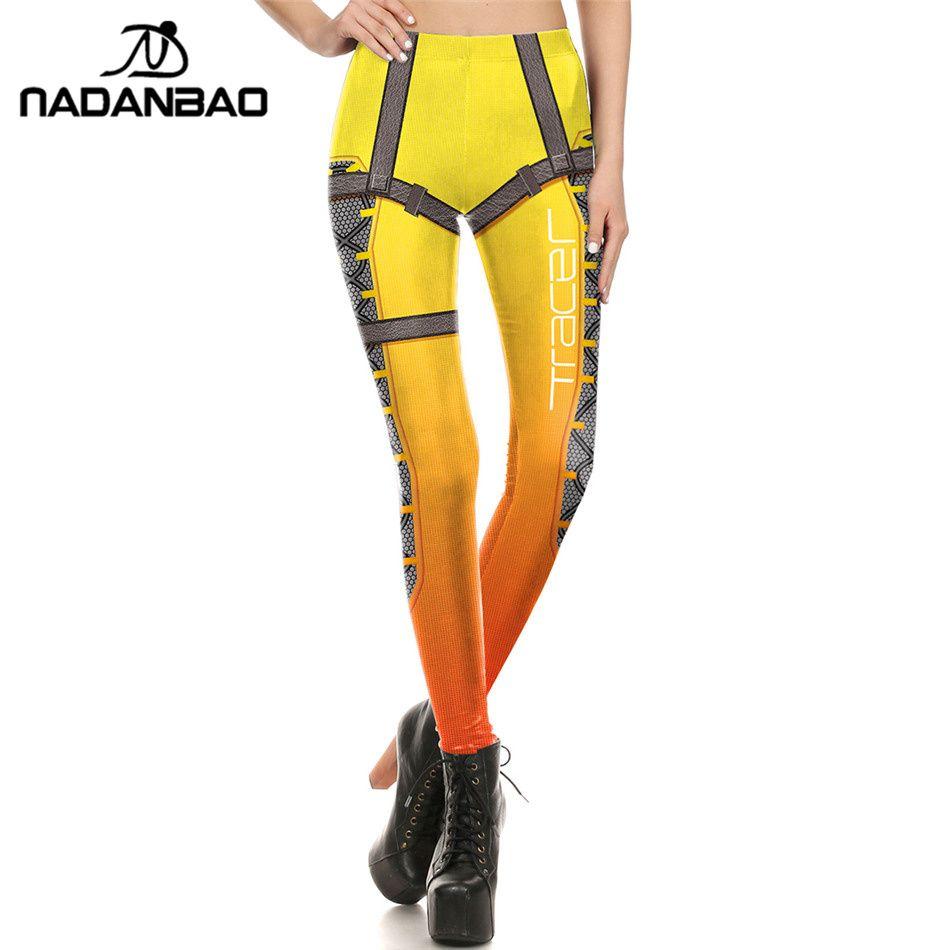 NADANBAO Marque Nouvelles Femmes leggings Super HERO Traceur Leggins Imprimé leggins Femme Vêtements