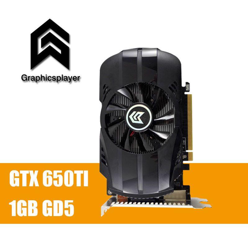 Grafikkarten für pc spiel GTX 650TI 1 GB GDDR5 Tarjeta Grafica Scheda Video Placa De Grafikkarte Carte Graphique VGA für NVIDIA