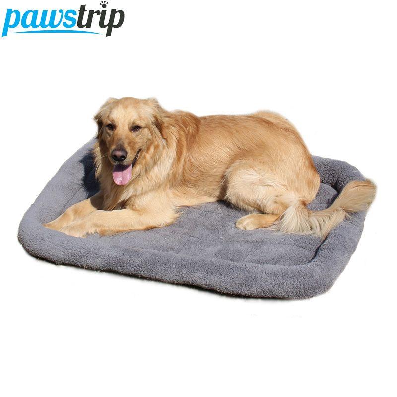 5 Размеры Питомец большая собака Bed мягкого флиса теплый Cat Кровати Многофункциональный щенок Подушки Коврики Кама Para Cachorro