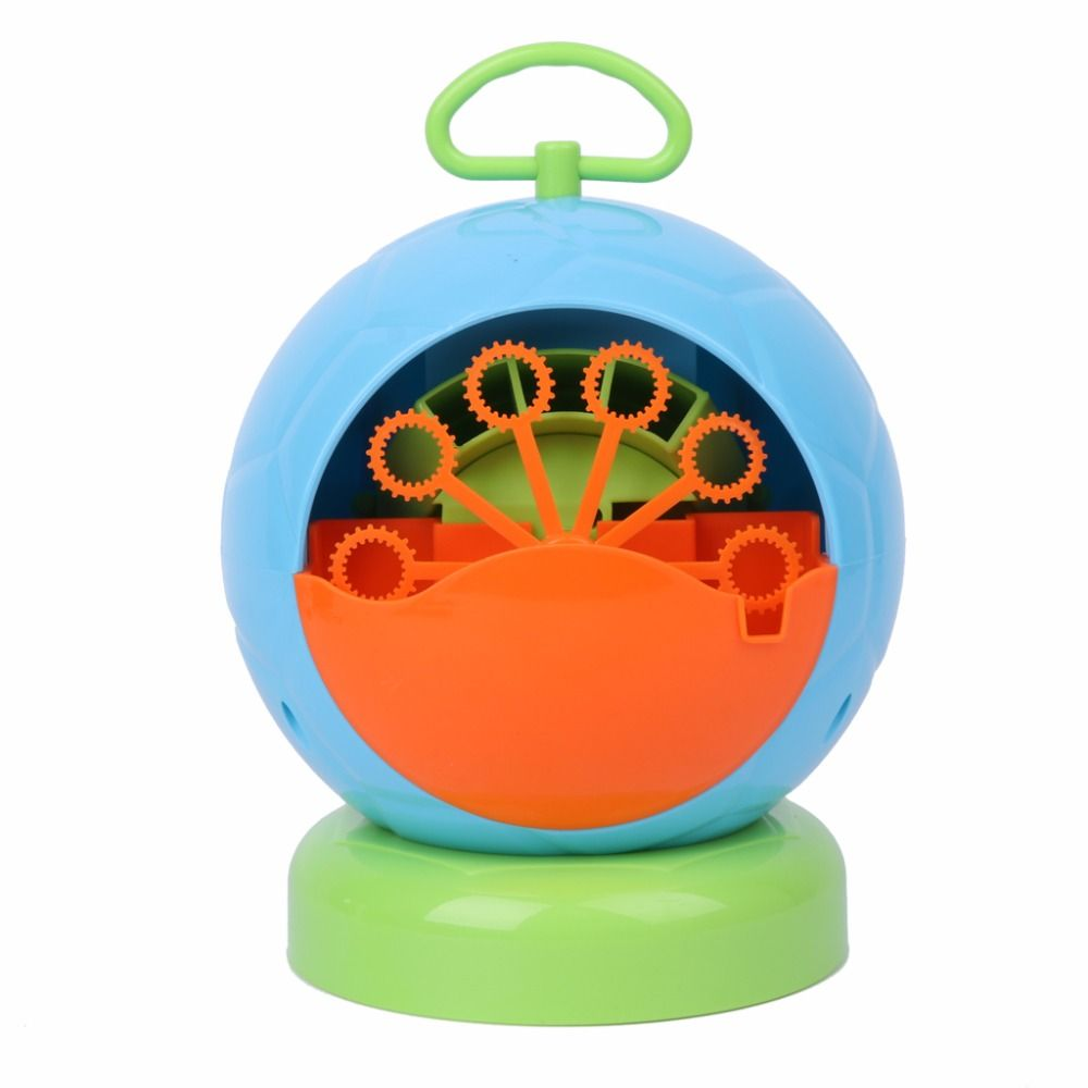 Automatic Bubble Machine Blower Maker Kids Children Indoor Outdoor Parties Toys
