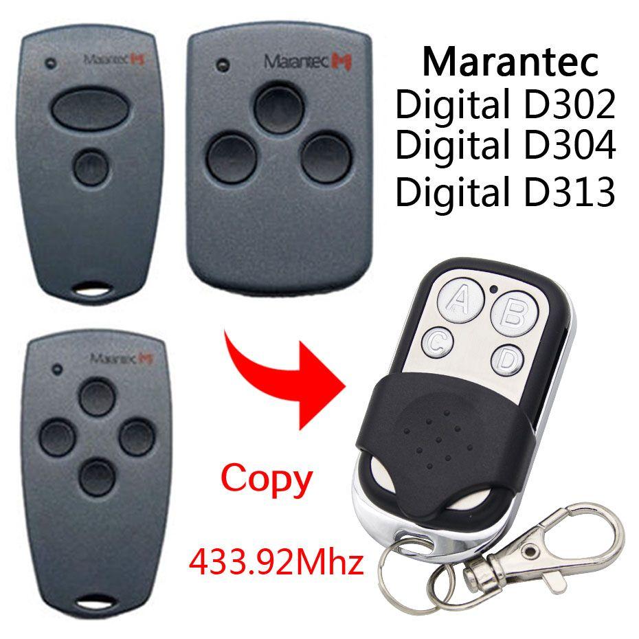 Marantec Digital 302/D304/D313 Compatible Garage/Gate Remote Digital/Comfort Cloner