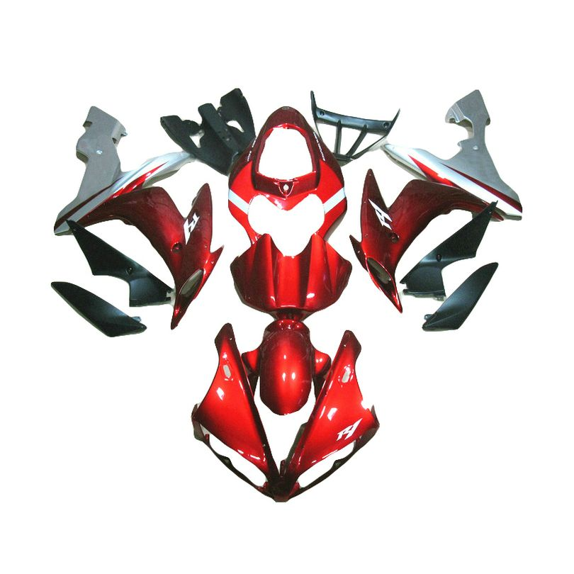 Spritzguss verkleidung kit für YAMAHA YZF1000 2005 2004 2006 metallic rot YZF R1 R1 04 05 06 verkleidungen TP55