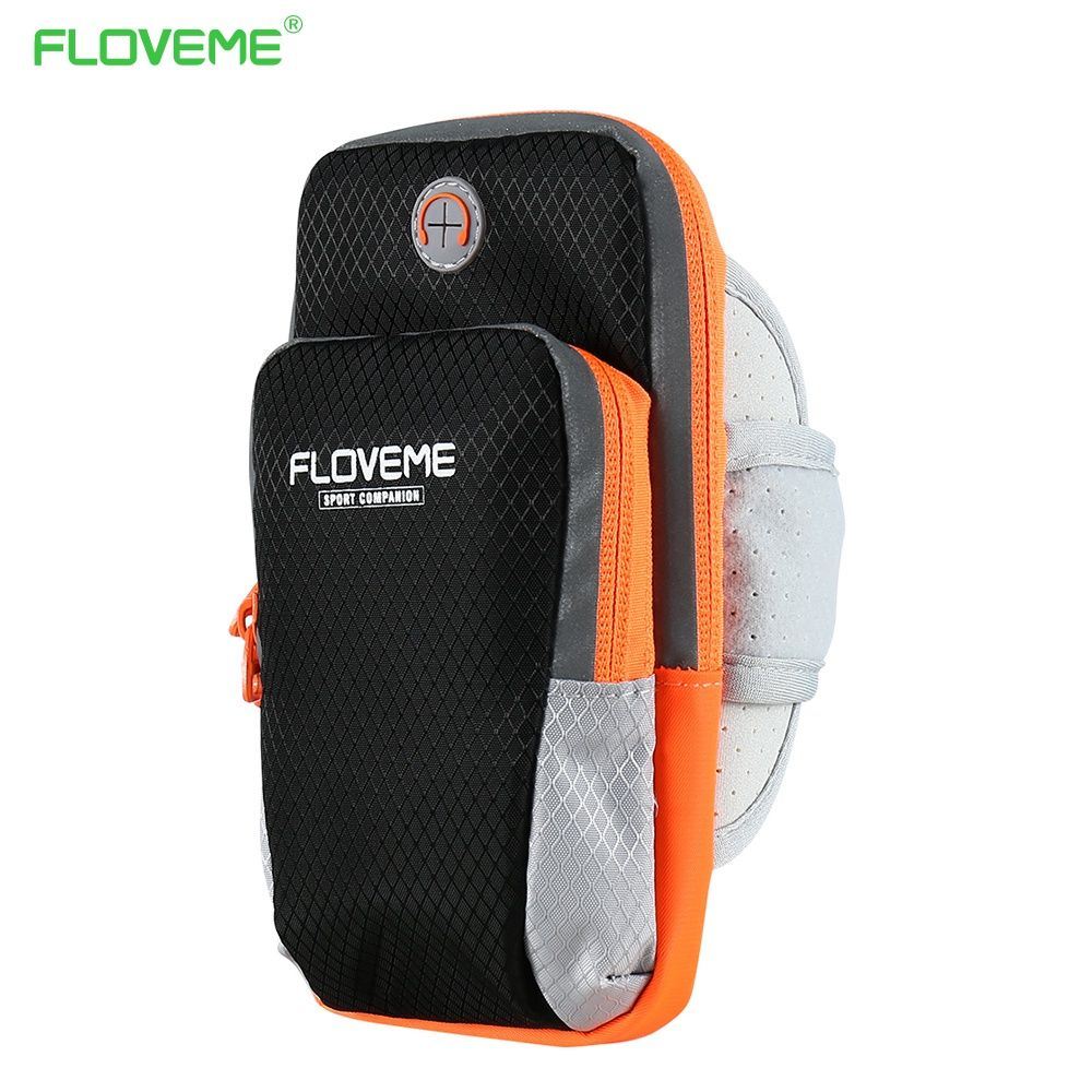 FLOVEME 6 Jogging Arm Band Case Pour iPhone 6 6 s 7 Plus 5 X GYM Universel En Plein Air Sport de Course Sac À Main Couverture Mobile Téléphone cas