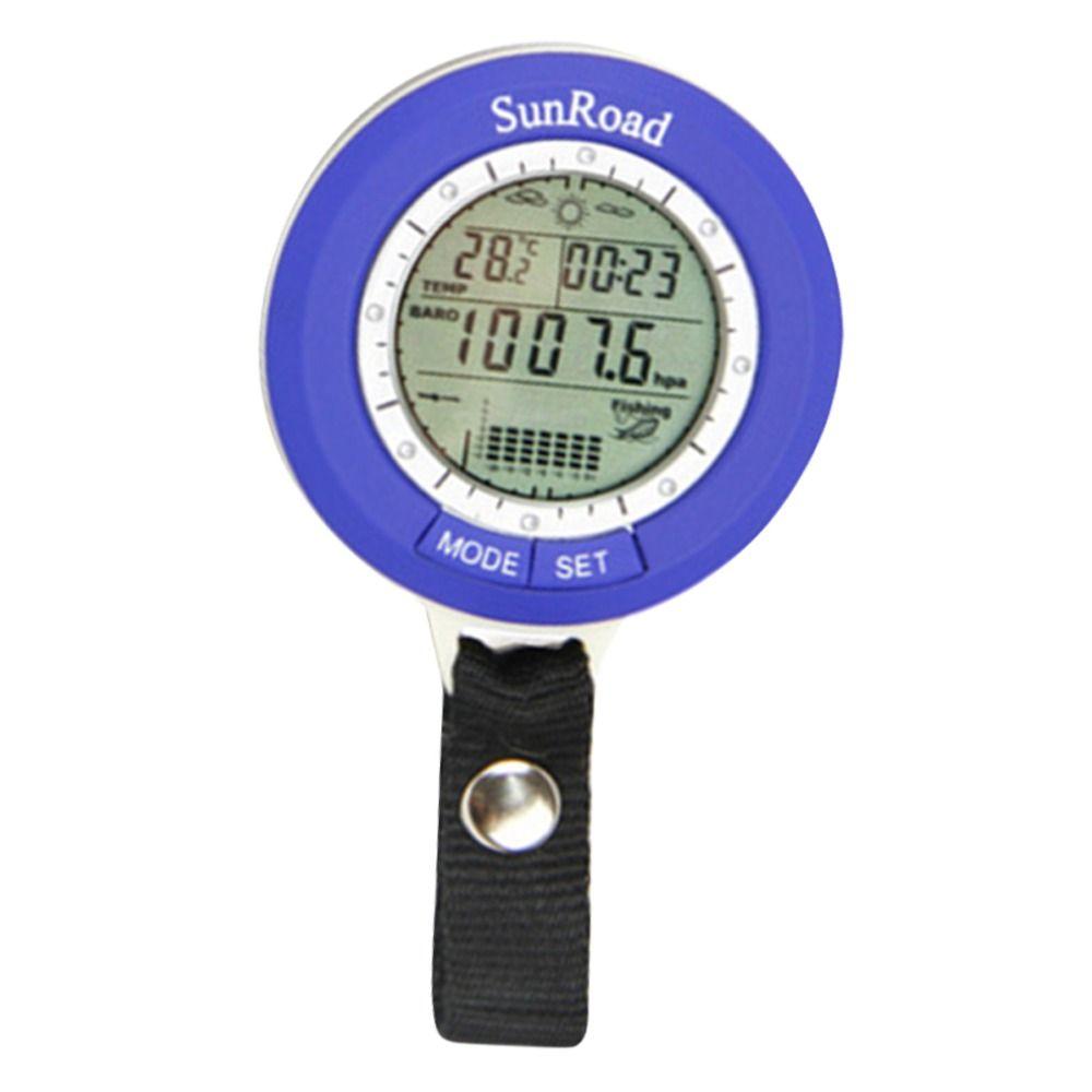 Fishing Barometer Multi-function LCD Digital Outdoor Fishing Barometer <font><b>Altimeter</b></font> Thermometer Drop shipping