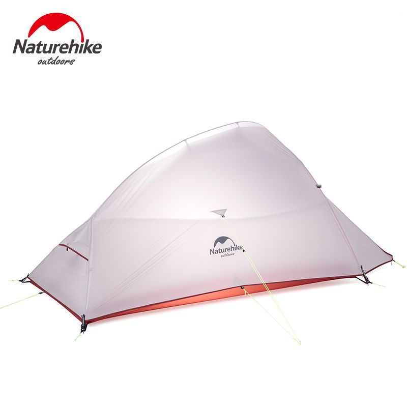 2018 New CloudUp UPGRADED 2 Person NatureHike Tent 20D Silicone Fabric Double-layer Camping Tent Lightweight NH17T001-T