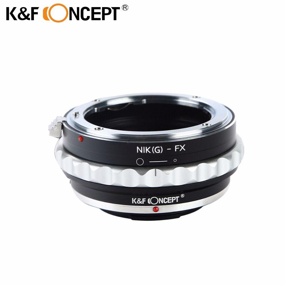 K & F CONCEPT Caméra Bague D'adaptation D'objectif pour Nikon G Monture D'objectif (à) ajustement pour Fujifilm Fuji FX X-Pro1 X-M1 X-A1 X-E1 Corps D'adaptateur