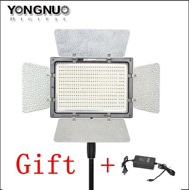 YONGNUO YN900 High CRI 5500K Video Led Panel Remote Control by Phone APP 900 LED Video Light Outside Lighting Solution