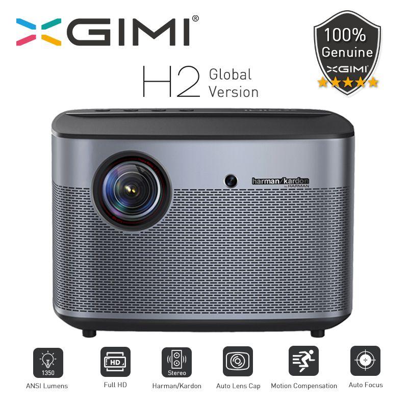 XGIMI H2 Projecteur Globale Version 1080 pixel Full HD 1350 Ansi Lumen 4K Vidéo projecteur 3D Unterstützung Hause cinéma