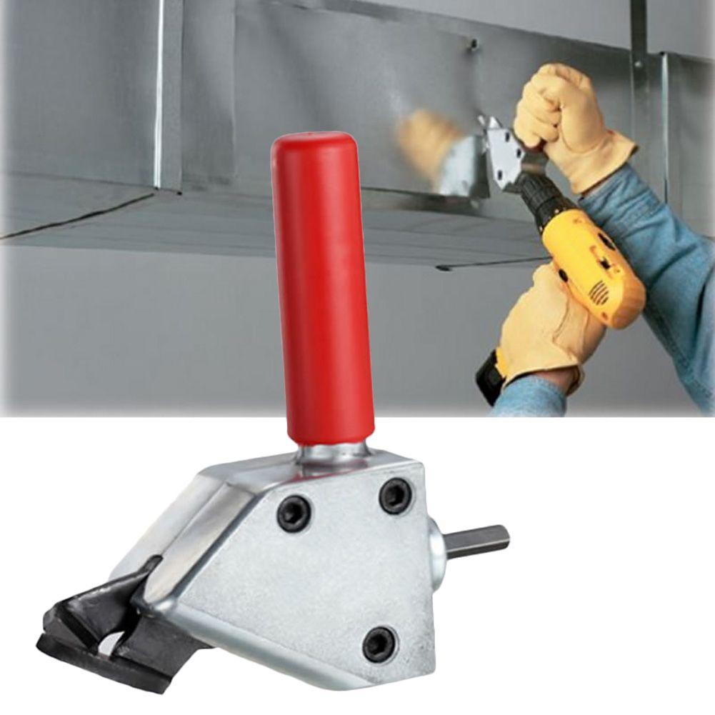 New Metal Cutting Sheet Nibbler Cutter Tool Drill Attachment Cutting Tool Nibbler Sheet Metal Cutter Power Tool Accessories