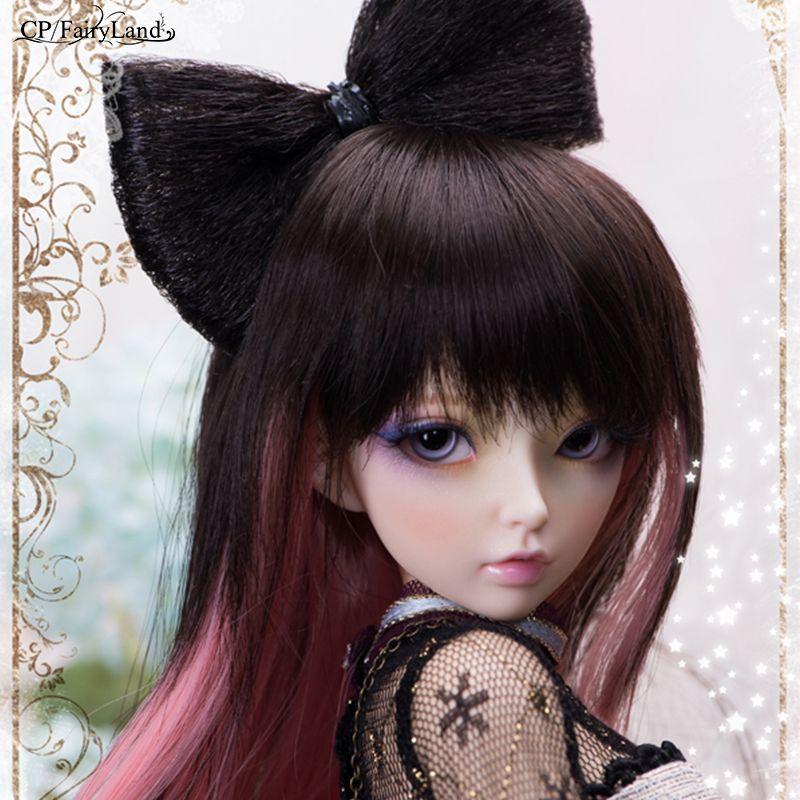 Livraison gratuite Minifee Celine BJD poupées 1/4 mode Flexible résine Figure femelle fées Fullset jouet pour enfants Fairyland