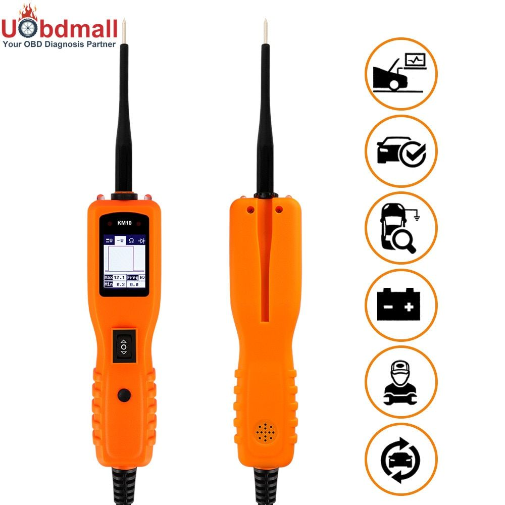 Car Electrical System Diagnostics KM10 Power Probe More Powerful than VSP200 YD208 PS100 PT150 Car Electric Circuit Tester