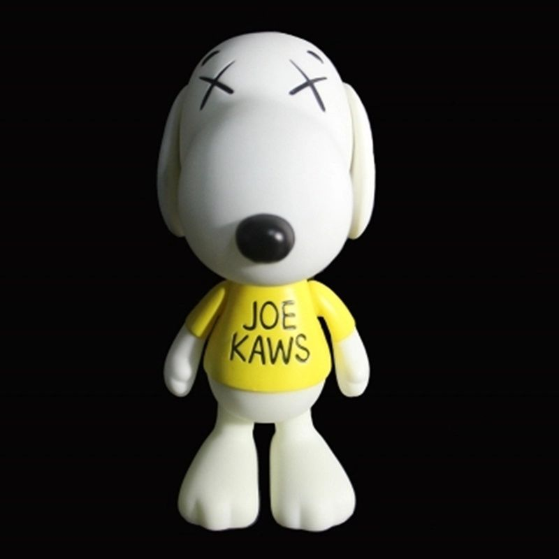 Medicom Toy KAWS Original Fake Cartoon Dog Street Art PVC Action Figure Collection Model Toy G1406