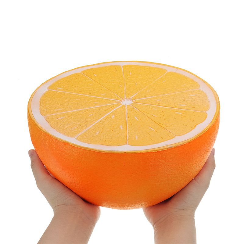 Free ship Soft squishy Big Orange Watermelon jumbo squishies Slow Rising toy Kids fun Collection squeeze toys gift Strawberry