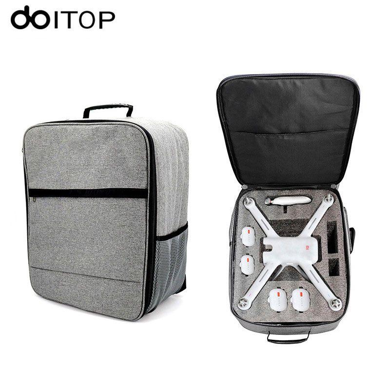 DOITOP for XIAO MI UAV Drone Backpack Storage Bag Outdoor Waterproof Carry Bag Handbag for Xiaomi 4K RC Quadcopter Accessories #