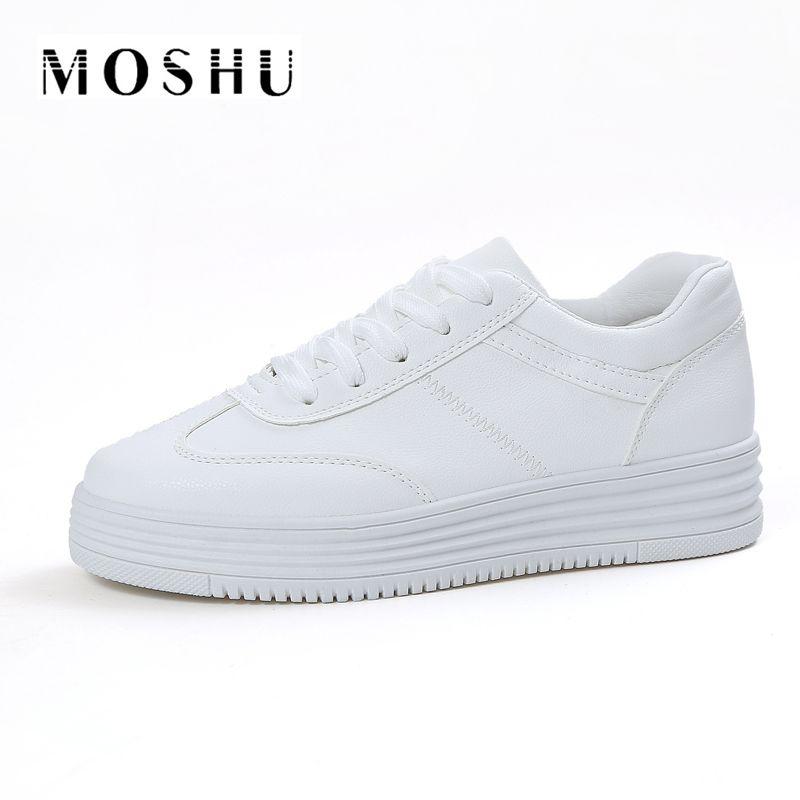 Diseñador verano sneakers mujeres causal Zapatos blanco mujer mujeres pisos plataforma zapatillas deportivas Mujer