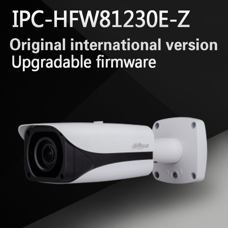 Free Shipping DAHUA Security IP Camera 12MP FULL HD IR Bullet Network Camera IP67 IK10 With POE Without Logo IPC-HFW81230E-Z