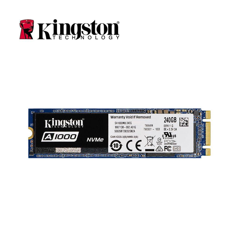 Kingston Original Internal Solid State Drive A1000 NVMe 3D TLC M.2 2280 SATA 240GB 480GB 960GB SSD Hard Disk For PC Notebook HD