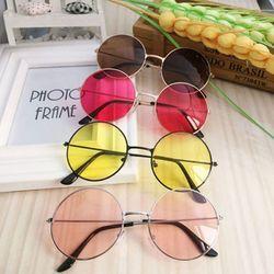 Ретро Круглые Солнцезащитные очки женские брендовые дизайнерские солнцезащитные очки для женщин зеркальные солнечные очки сплав женские ...