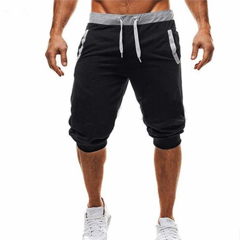 2018 Shorts Men Casual Joggers Sweatpants Shorts 3/4 Trousers Short Fitness Clothing Bodybuilding Men Shorts Summer Men Clothin