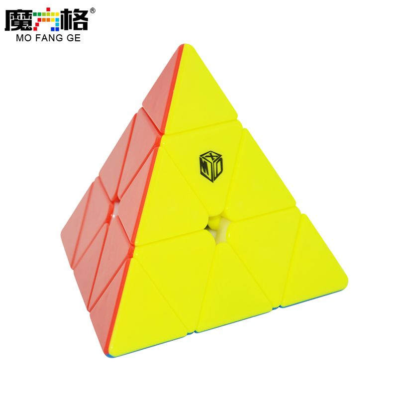 Mofangge X-MAN Bell Magic <font><b>Cube</b></font> Magnetic Qiyi Pyraminx Speed <font><b>Cube</b></font> Black/Stickerless Magic <font><b>Cube</b></font> Puzzle Toys For Kids