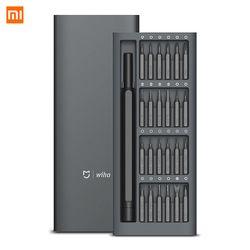 Оригинальный Xiaomi Mijia Wiha 24 В 1 Точная отвертка комплект 60HRC магнитные биты Xiaomi домашний Ремкомплект, инструменты Xiomi Mijia
