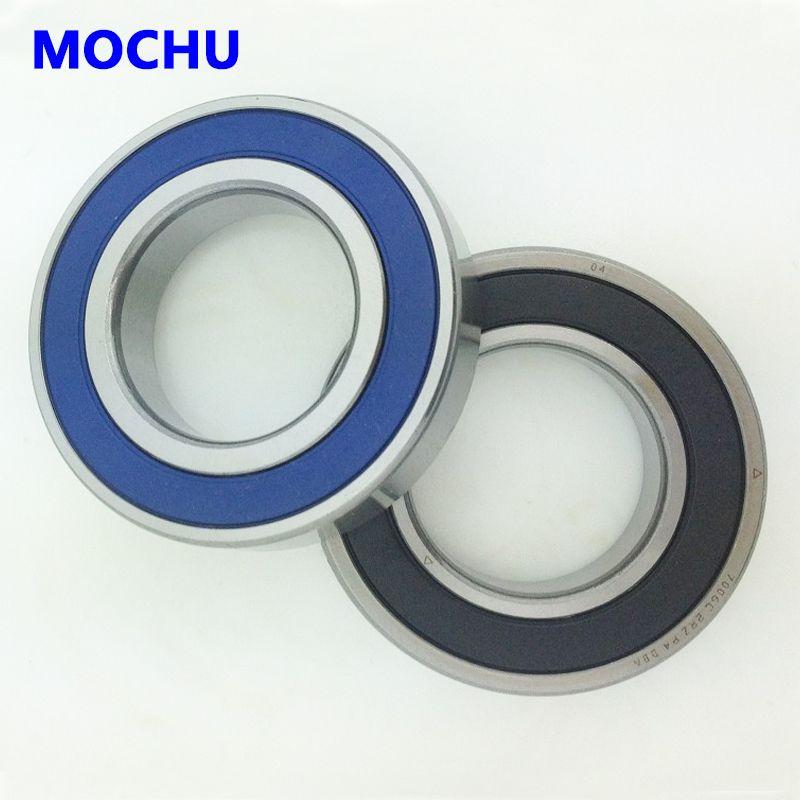 1 Pair MOCHU 7005 7005C 2RZ P4 DT 25x47x12 25x47x24 Sealed Angular Contact Bearings Speed Spindle Bearings CNC ABEC-7