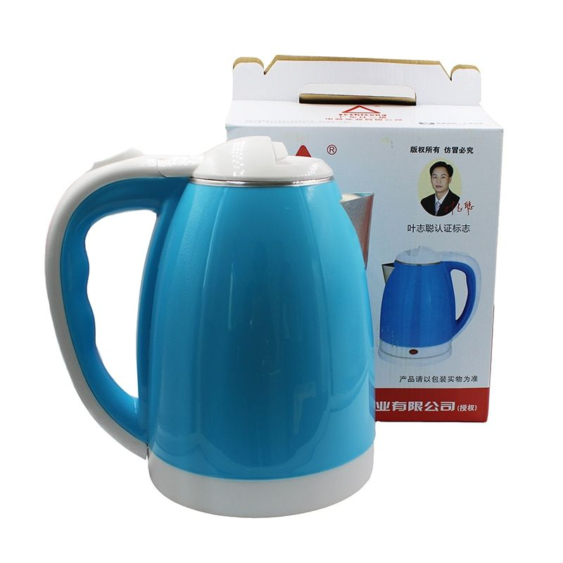 2018new electric kettle stainless steel <font><b>1500W</b></font> anti-dry automatic power off function