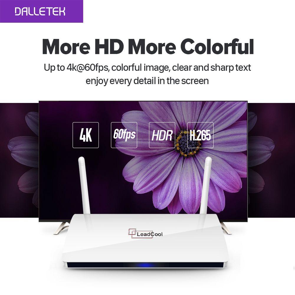 Leadcool Set top box Android Arabic Box Rk3229 Quad-Core WIFI Smart TV box Leadcool TV box TV Receiver