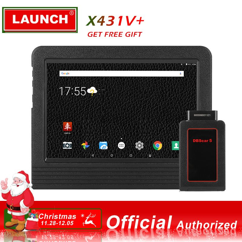 Starten X431 V + Full System-Diagnose-Tool Tablet Scan pad 2 Jahre Online Update DBScarII Bluetooth