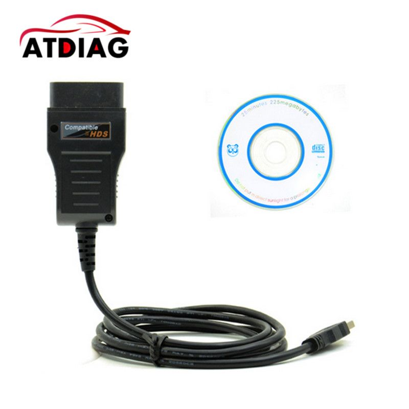 Wholesale For Honda HDS Cable, HDS Cable OBD2 Diagnostic Cable with free shipping