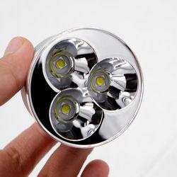 3 x Cree XM-L2 U3-1A 6500 K Keren Putih 3800 Lumens 8.4 V DIPIMPIN Penurunan untuk TrustFire TR-3T6 TR-3L2 senter (Dia 50mm)