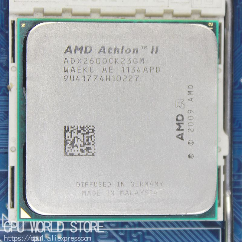 AMD Athlon II X2 260 CPU Prozessor 3,2 Ghz/2 Mt/2000 GHz Sockel am3 am2 + 938 pin