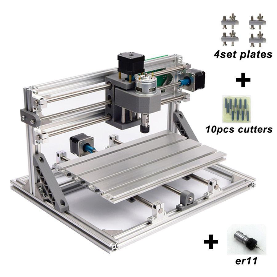 CNC3018 ER11,diy cnc engraving machine,Pcb Milling Machine,wood router,laser engraving,GRBL control,cnc 3018,best toys gifts