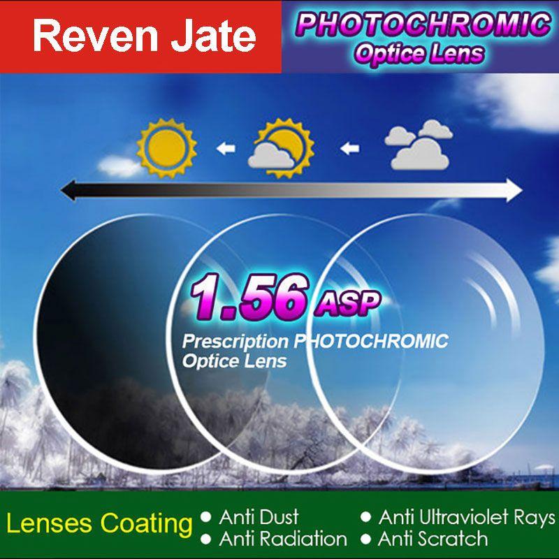 1.56 Photochromiques Gris ou Augmenté Unique Vision Lentille SPH Gamme-7.00 ~ + 7.00 Max CLY-4.00 Optique lentilles pour Lunettes