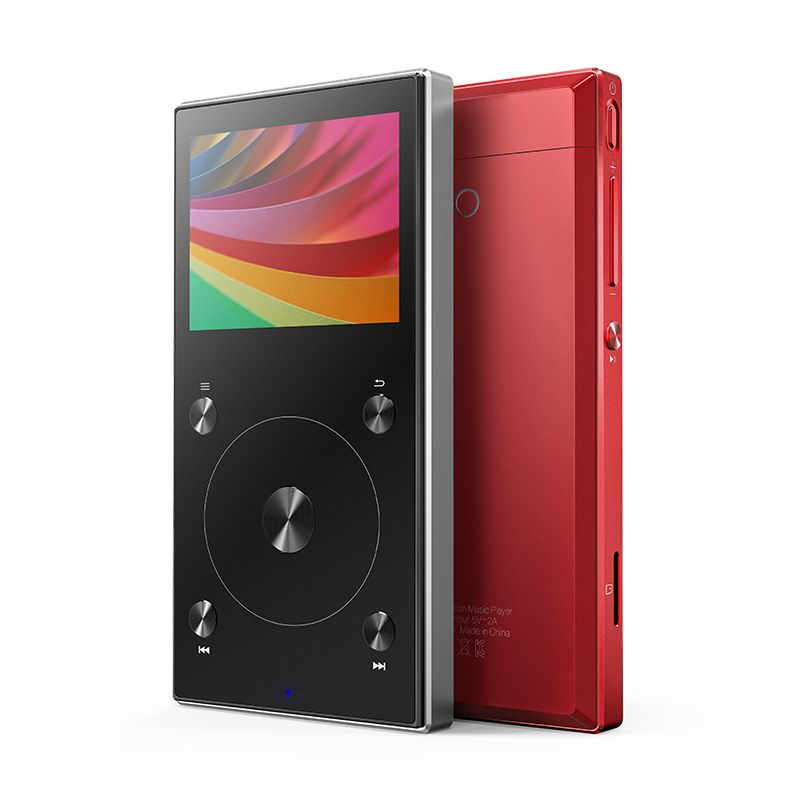 FiiO Bluetooth 4.1 Portable Hi-Res Music Player X3MKIII with Balanced Out PO/LO,DSD Support.FiiO hifi lossless mp3 x3iii