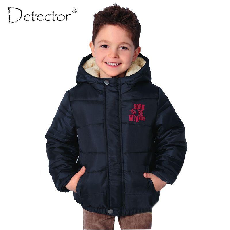Detector 2016 jungen sport mantel kid outdoor-jacke kinder winddichte warme winterkleidung