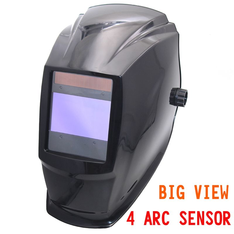 Big <font><b>view</b></font> area Solar Auto darkening filter welding helmet/face mask/Electric welder mask/gogglssfor TIG MIG MMA welding machine